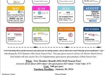 Registrations due: BAH Season Pass