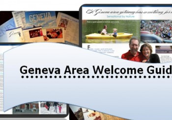 "Introducing ""The Geneva Area Welcome Guide!"""