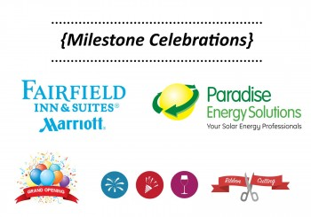 Upcoming Milestone Celebrations