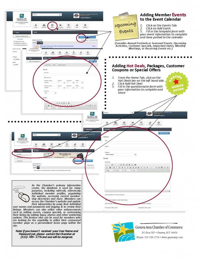 Full Instructions for Member Website Logins Page 2