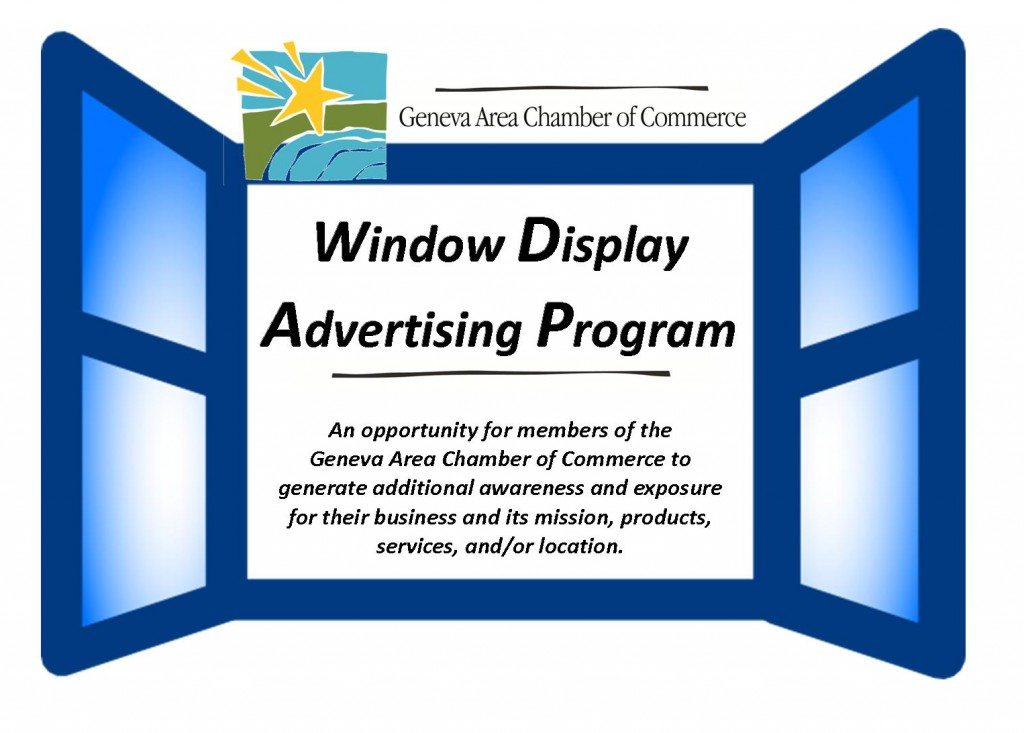 Logo Idea Window Advertising