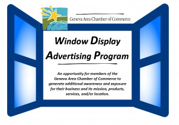 Window Display Advertising Program