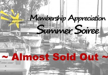 Almost Sold Out ~ Membership Appreciation Summer Soiree