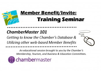 Upcoming Training Seminar: ChamberMaster 101