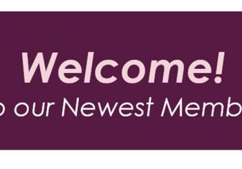Welcome! …to our Newest Members!
