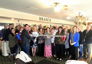 Congrats! Ribbon Cuttong at Branch by Bellangelo