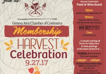 Ticket Deadline Approaching! ~ Membership Harvest Celebration!