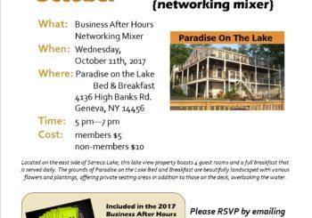 October BAH ~ Paradise on the Lake B&B