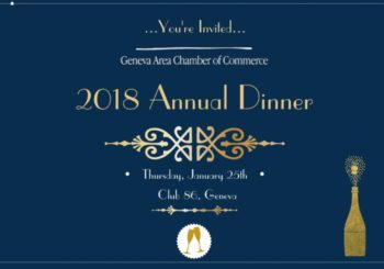 RSVP Deadline Approaching: 2018 Annual Dinner