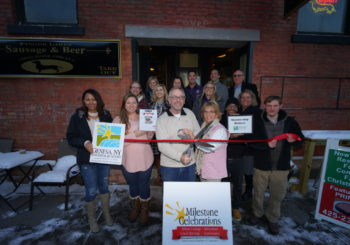 Geneva Chamber Co-Hosts Member Milestone Celebration