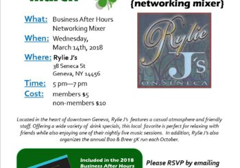 March BAH Mixer ~ Rylie J's