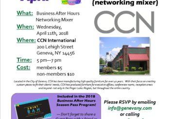 April BAH Mixer ~ CCN International