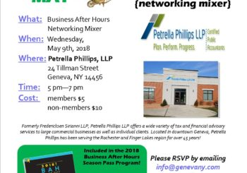 May BAH Mixer ~ Petrella Phillips LLP