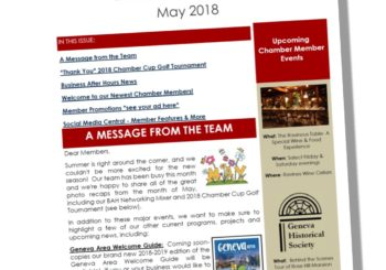 The Chamber Connection ~ May 2018