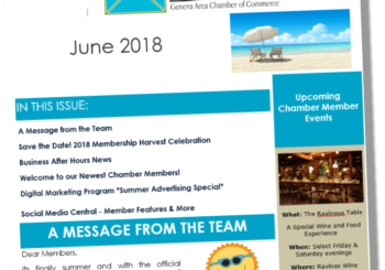 The Chamber Connection ~ June 2018