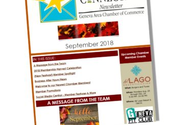 The Chamber Connection ~ September 2018