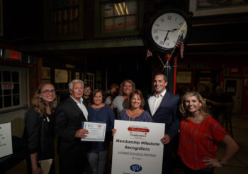 Geneva Chamber Honors Long-Time Members at Membership Harvest Celebration