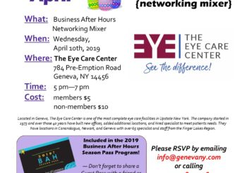 April Business After Hours- The Eye Care Center