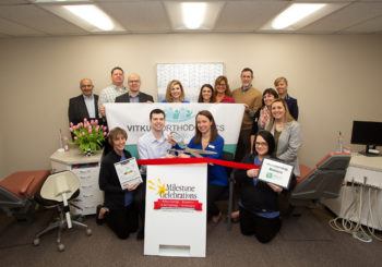 Member Milestone Celebration- Vitkus Orthodontics