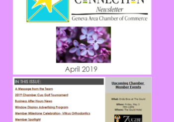 The Chamber Connection- April