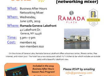 June Business After Hours- Ramada Geneva Lakefront