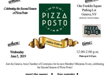 Member Milestone Celebration ~ Pizza Posto