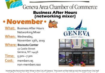 November Business After Hours – City of Geneva