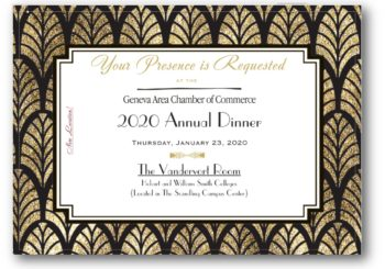 2020 Annual Dinner ~ Location Announced!