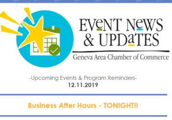 Upcoming Events & Program Reminders 12.11.19