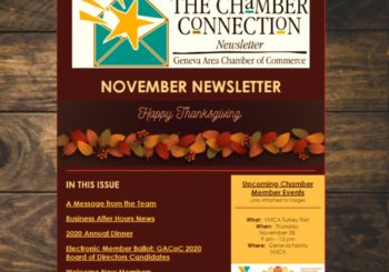 The Chamber Connection Newsletter – November 2019