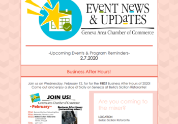 Event News & Updates 2.7.20