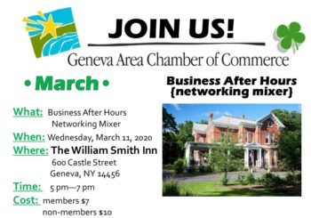 March Business After Hours – The William Smith Inn