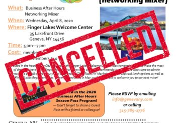 April Business After Hours- Cancelled