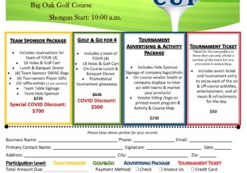 Deadline Approaching – 2020 Chamber Cup Golf Tournament